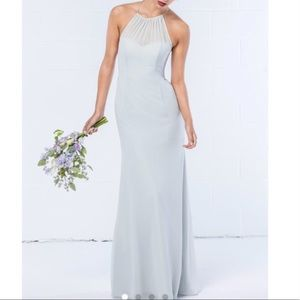 WTOO A-line halter Gown NWT